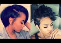 Trend 28 best short hairstyles for black women with relaxed hair 2018 2019 Cute Hairstyles For Short Relaxed Hair Ideas