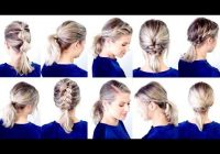 Trend 3 easy hairstyles for shortmedium length hair ashley Ways To Style Medium Short Hair Inspirations