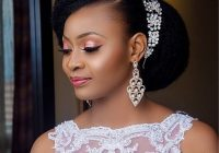 Trend 30 beautiful wedding hairstyles for african american brides Natural Hair Wedding Styles African American