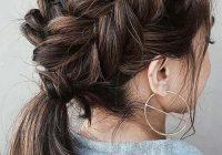 Trend 30 best french braid short hair ideas 2019 short haircut Plait Styles For Short Hair Inspirations