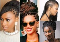 Trend 30 fashion braid hairstyles for black women Black Women Hair Braiding Styles Inspirations