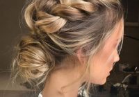 Trend 50 delicate bridesmaid hairstyles for a beautiful experience Braided Hair For Bridesmaids Choices