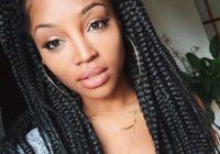 Trend 65 box braids hairstyles for black women African American Big Braids Designs
