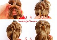 Trend american girl doll hairstyle christmas tree pull through Fun And Easy Hairstyles For American Girl Dolls