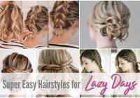 Trend easy hairstyles for short to medium length hair see mama go Cute Updos For Short Hair Tutorials Ideas