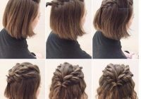 Trend lovely twists for short hair cute hairstyles for short Braiding Styles For Short Hair Choices