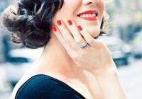 Trend pin melissa felix on hair hair styles wedding hair Pin Up Style For Short Hair Ideas