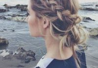 Trend pin on health and beauty Loose Braid Updo Long Hair Ideas