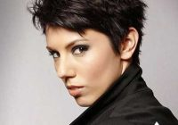 Trend pin on schoonheid Short Pixie Haircuts For Thick Curly Hair Choices
