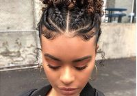 Trend q natural hair styles transitioning Braided Hairstyles For Naturally Curly Hair Choices