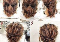 Trend recogido sencillo simple prom hair hair styles short Up Hair Styles For Short Hair Choices