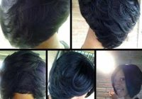 Trend short layered haircuts for black women 500503 bob Short Layered Bob Hairstyles African American Ideas