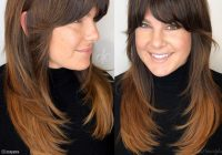 Trend short layers on long hair 13 examples of this hot trend Long Hair With Short Layers On Top And Side Bangs Ideas