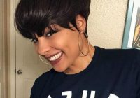 Trend short natural haircuts for black females with round faces 30 Easy To Maintain Short Hairstyles For Black Hair Inspirations