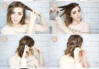 Trend simple quick hairstyles for short hair new hair styles Cute Short Hairstyles At Home Inspirations
